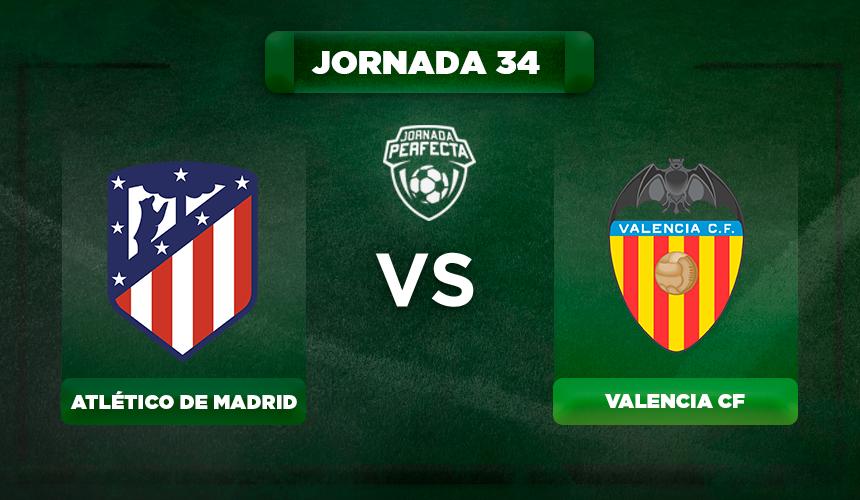 Alineación Atlético - Valencia