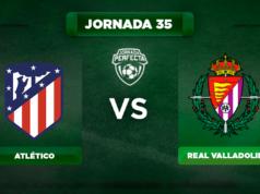 Alineación Atlético - Valladolid