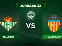 Alineación Betis - Valencia
