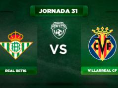 Alineación Betis - Villarreal