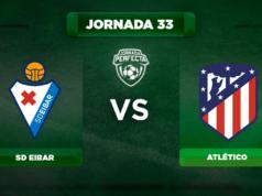 Alineación Eibar - Atlético