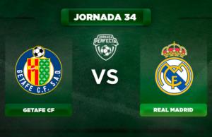 Alineación Getafe - Real Madrid