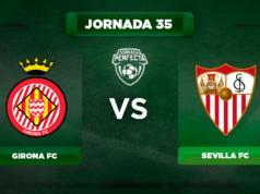 Alineación Girona - Sevilla