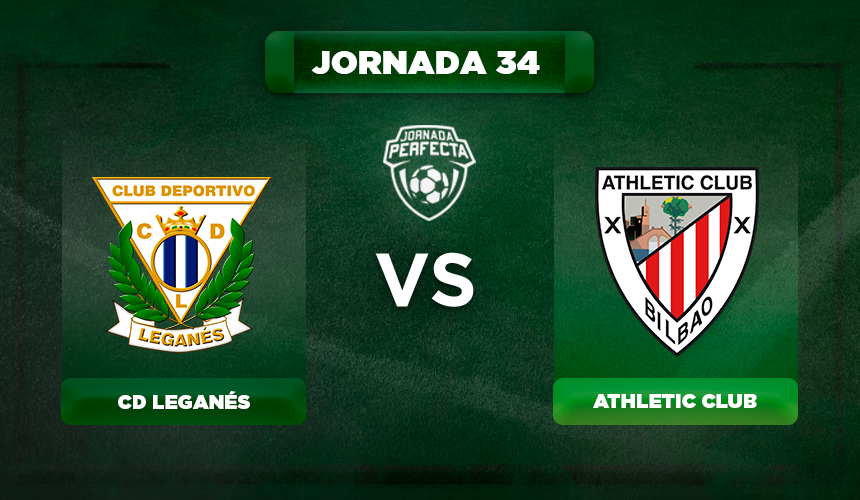 Alineación Leganés - Athletic