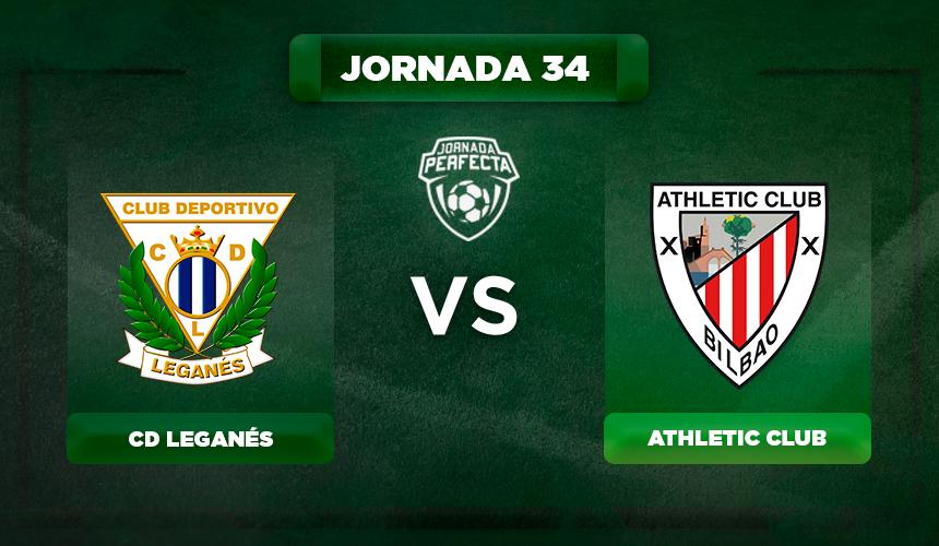 Alineación Leganés - Athletic