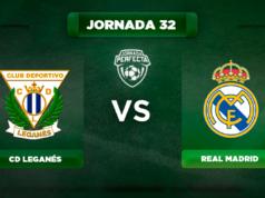 Alineación Leganés - Real Madrid