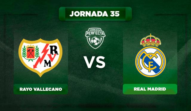 Alineación Rayo - Real Madrid