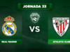 Alineación Real Madrid - Athletic