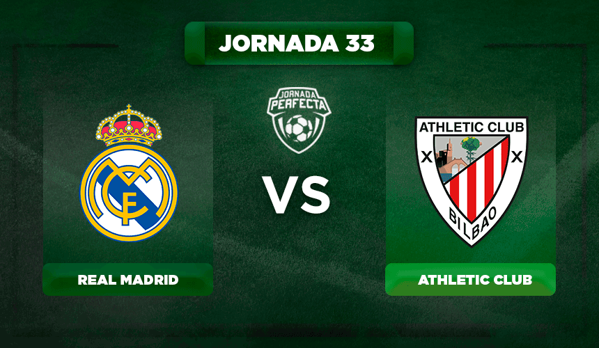 Alineación Real Madrid - Athletic