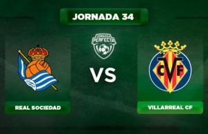 Alineación Real Sociedad - Villarreal