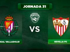 Alineación Valladolid - Sevilla