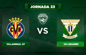 Alineación Villarreal - Leganés