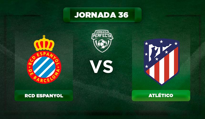 Alineación Espanyol - Atlético
