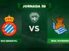 Alineación Espanyol - Real Sociedad