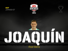 Joaquín MVP Jornada 37