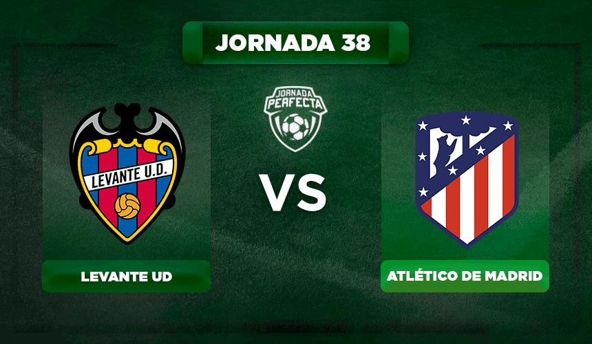 Alineación Levante - Atlético