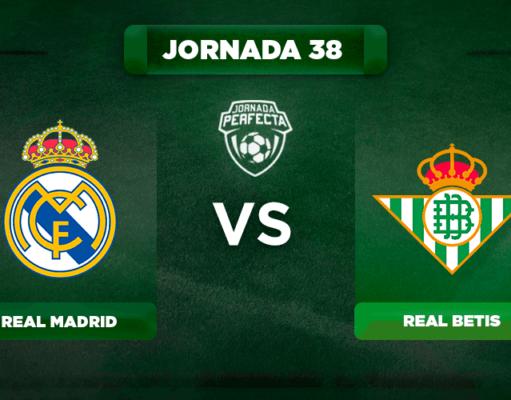 Alineación Real Madrid - Betis