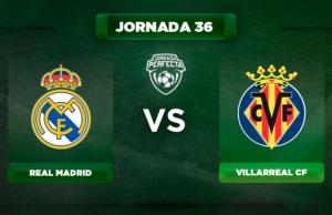 Alineación Real Madrid - Villarreal