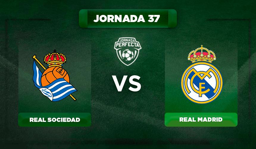 Alineación Real Sociedad - Real Madrid