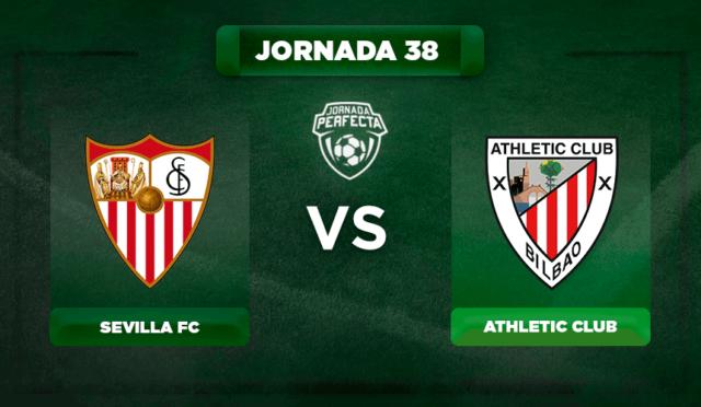 Alineación Sevilla - Athletic