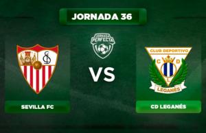 Alineación Sevilla - Leganés
