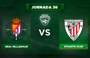 Alineación Valladolid - Athletic