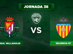 Alineación Valladolid - Valencia