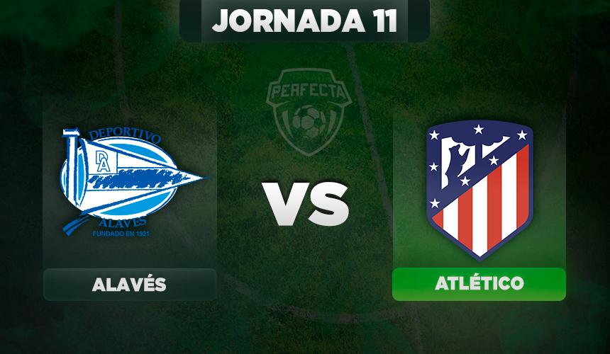 Alineaciones Alavés - Atlético