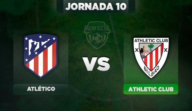 Alineaciones Atlético - Athletic