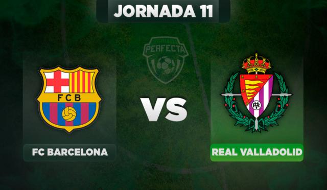 Alineaciones Barça - Valladolid