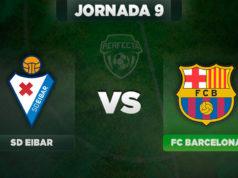 Alineación Eibar - Barça