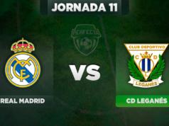 Alineaciones Real Madrid - Leganés