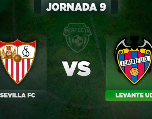 Alineaciones Sevilla - Levante