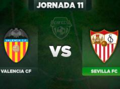 Alineaciones Valencia - Sevilla