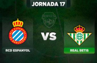 Alineaciones Espanyol - Betis