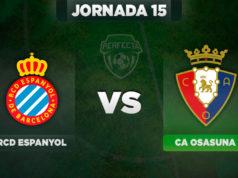 Alineaciones Espanyol - Osasuna