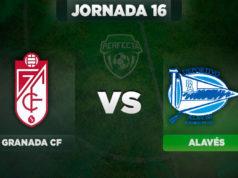 Alineaciones Granada - Alavés
