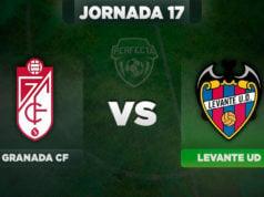Alineaciones Granada - Levante