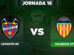 Alineaciones Levante - Valencia