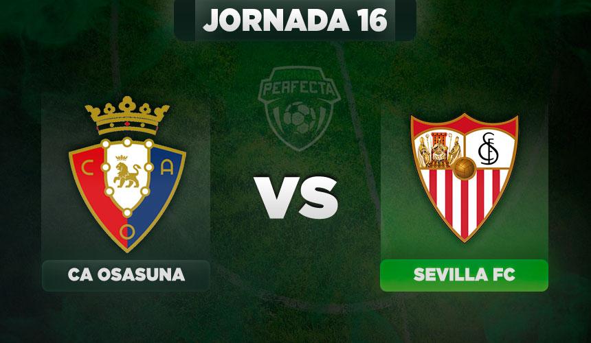 Alineaciones Osasuna - Sevilla