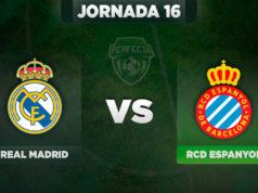 Alineaciones Real Madrid - Espanyol