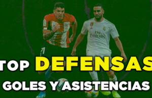 Top Defensas Goles y Asistencias