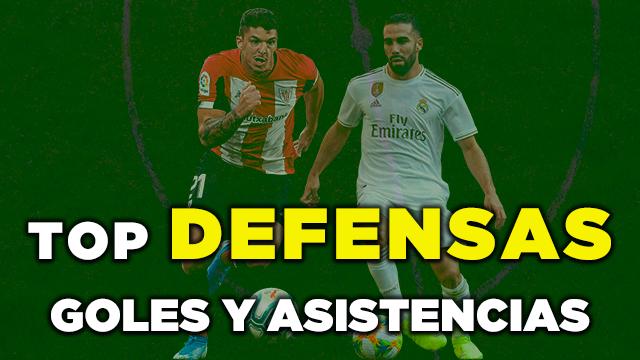 Top Defensas Goles y Asistencias