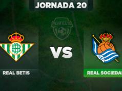 Alineaciones Betis - Real Sociedad