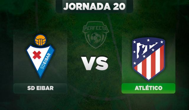 Alineaciones Eibar - Atlético