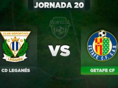Alineaciones Leganés - Getafe