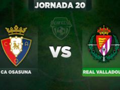Alineaciones Osasuna - Valladolid
