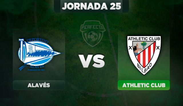 Alineaciones Alavés - Athletic