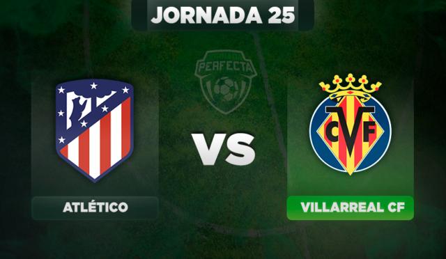 Alineaciones Atlético - Villarreal