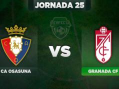 Alineaciones Osasuna - Granada